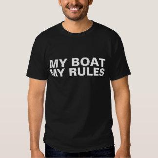 Mein Boot. Meine Regeln - lustiger Bootfahrt T - T-shirt