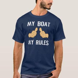 MEIN BOOT MEINE REGELN T-Shirt