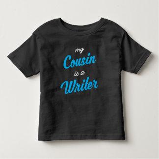 Mein Cousin ist ein Verfasser Kleinkind T-shirt
