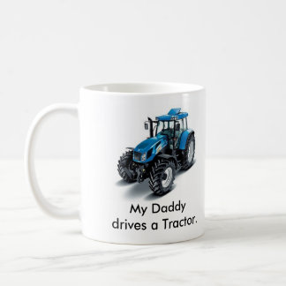 Mein Daddydrives ein Traktor Kaffee Tassen