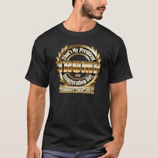 Mein des Präsidenten-Trump schwarzes T-Stück T-Shirt