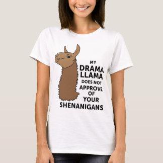Mein Drama-Lama genehmigt nicht Ihre Shenanigans T-Shirt