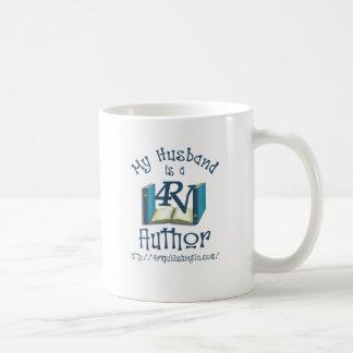Mein Ehemann ist ein Autor 4RV Kaffeetasse