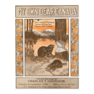 Mein eigenes liebes Kanada Postkarte