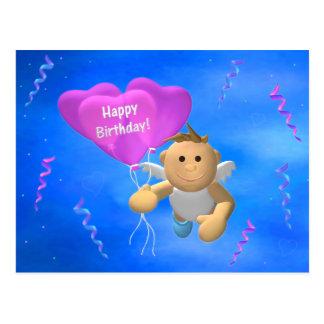 Mein Engelchen: Geburtstags-Engel 2 Postkarte