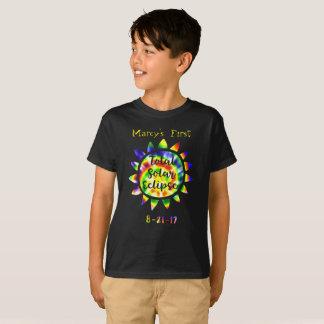 Mein erster Gesamtsolareklipse-Krawatten-T - Shirt