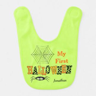 Mein erstes Halloween, niedliche Spinne Babylätzchen