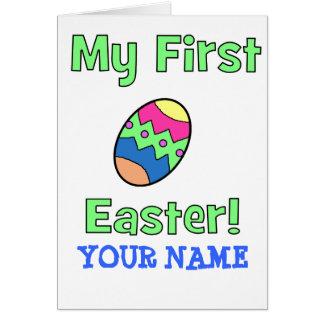 Mein erstes Ostern! Karte