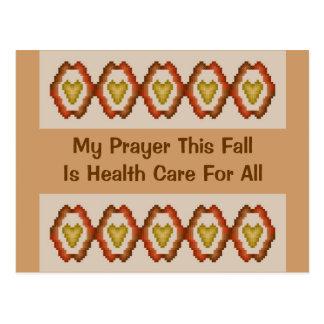 Mein Gebet dieser Fall ist Gesundheitswesen für Postkarte