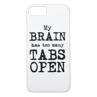Mein Gehirn hat zu viele offenen Vorsprünge iPhone 7 Hülle
