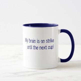 Mein Gehirn ist auf Streik…. Tasse