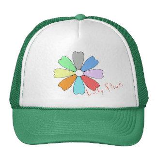 Mein glücklicher Blumen-Hut/Kappe Trucker Kappe
