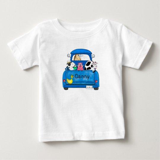 Mein großer blauer LKW Baby T-shirt