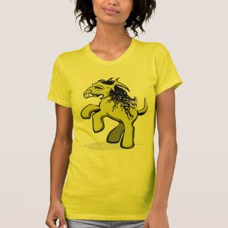 Mein gruseliges kleines Pony (Gelb) T-Shirt