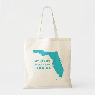 Mein Herz blutet für Florida-Blau Tragetasche