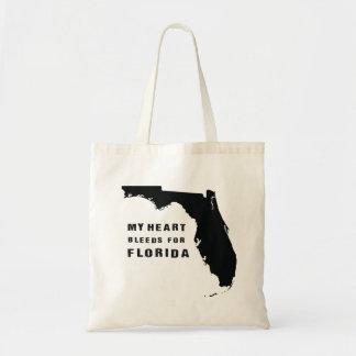 Mein Herz blutet für Florida Tragetasche