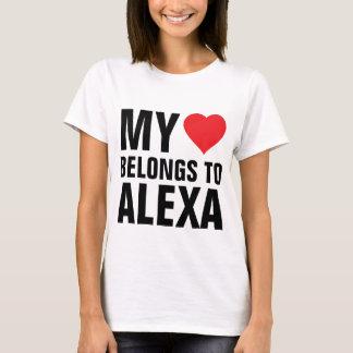 Mein Herz gehört Alexa T-Shirt