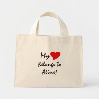 Mein Herz gehört Alina I Taschen