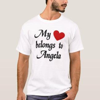 Mein Herz gehört Angela T-Shirt