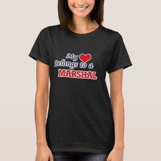 Mein Herz gehört einem Marschall T-Shirt