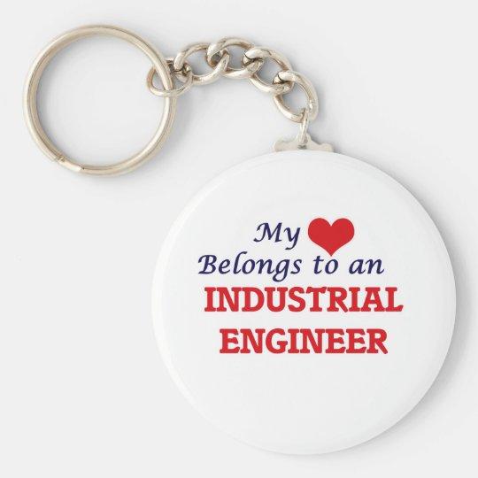 Mein Herz gehört einem Wirtschaftsingenieur Schlüsselanhänger