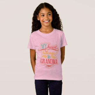 Mein Herz gehört Großmutter T-Shirt