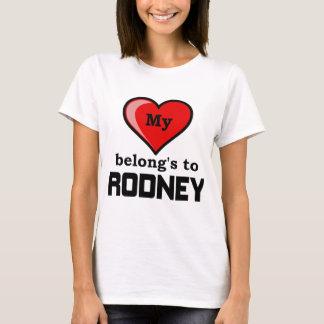 Mein Herz gehört Rodney T-Shirt