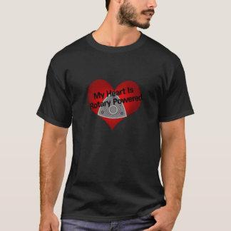 Mein Herz ist angetrieben Dreh T-Shirt