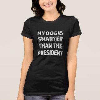 Mein Hund ist intelligenter als das lustige Shirt