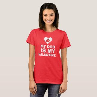 Mein Hund ist mein Valentinsgruß T-Shirt