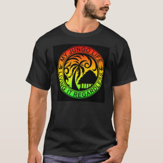 Mein Jungo Leben, gedankenlos lebend es T-Shirt