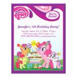 Mein kleines Pony-Geburtstags-Party Ankündigungskarten