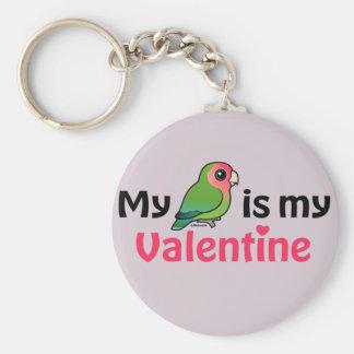 Mein Lovebird ist mein Valentinsgruß Schlüsselanhänger