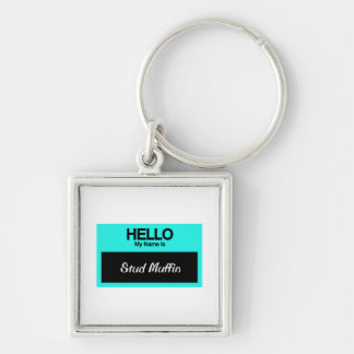 Mein Name ist Bolzen-Muffin Schlüsselanhänger