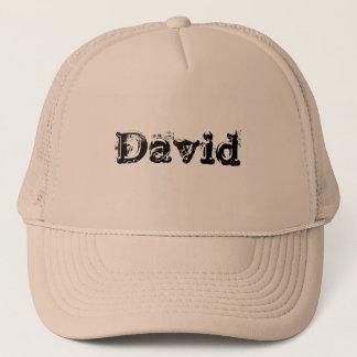 Mein Name ist David Truckerkappe