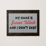 Mein Name ist James Tillich Puzzle
