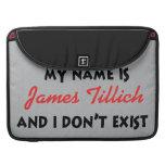 Mein Name ist James Tillich Sleeve Für MacBook Pro