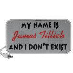 Mein Name ist James Tillich Tragbare Lautsprecher