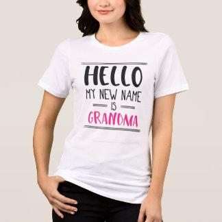 Mein neuer Name ist Großmutter - neues T-Shirt