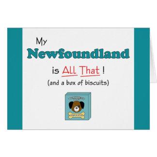 Mein Neufundland ist alles das! Karte