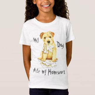 Mein Norfolk-Terrier aß meine Hausaufgaben T-Shirt