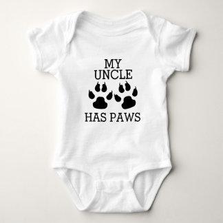 Mein Onkel Has Paws Baby Strampler