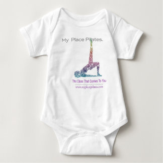 Mein Platz Pilates Logo Onsie Baby Strampler