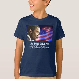 Mein Präsident Herr Barack Obama (patriotisch) T-Shirt