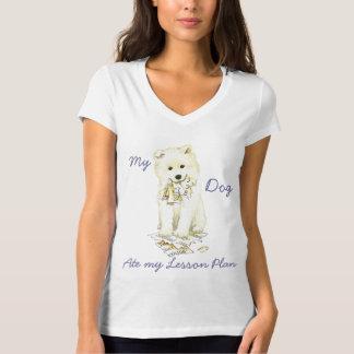 Mein Samoyed aß meinen Unterrichtsplan T-Shirt