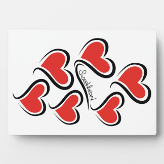 Mein Schatz-Valentinsgruß Fotoplatte
