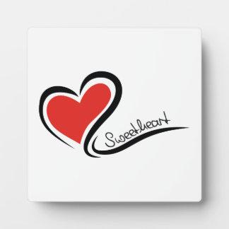 Mein Schatz-Valentinsgruß Platten