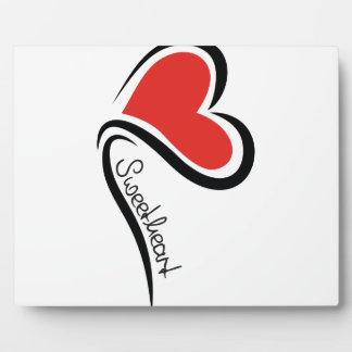 Mein Schatz-Valentinsgruß Schautafel