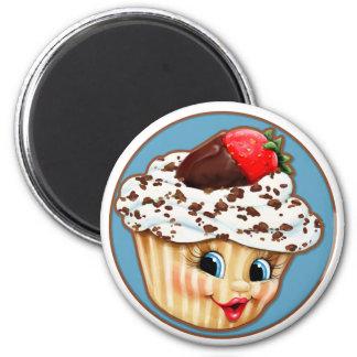 Mein süßer kleiner kleiner Kuchen Runder Magnet 5,1 Cm