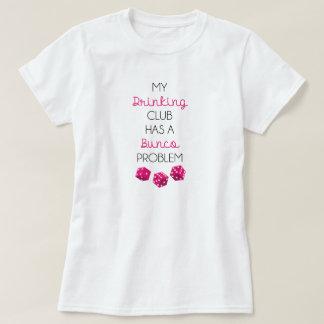 Mein trinkender Verein hat einen lustigen T - T-Shirt